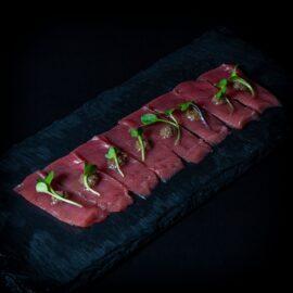 Tiradito atun trufa bluefin